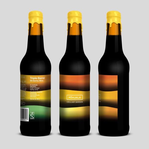 Põhjala Triple Barrel – BA Barley Wine – 13%