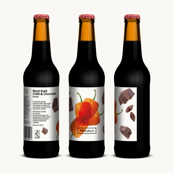 Põhjala Must Kuld Chilli & Chocolate - 7.8% - 0.33L
