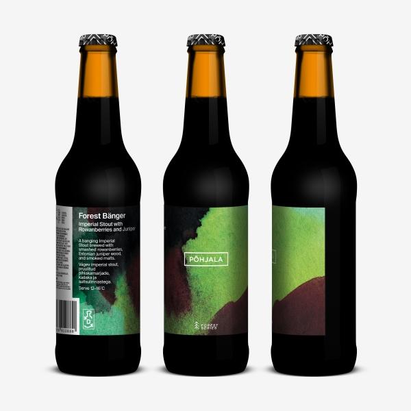 Põhjala Forest Bänger – Imperial Stout - 12.5% – 0.33L