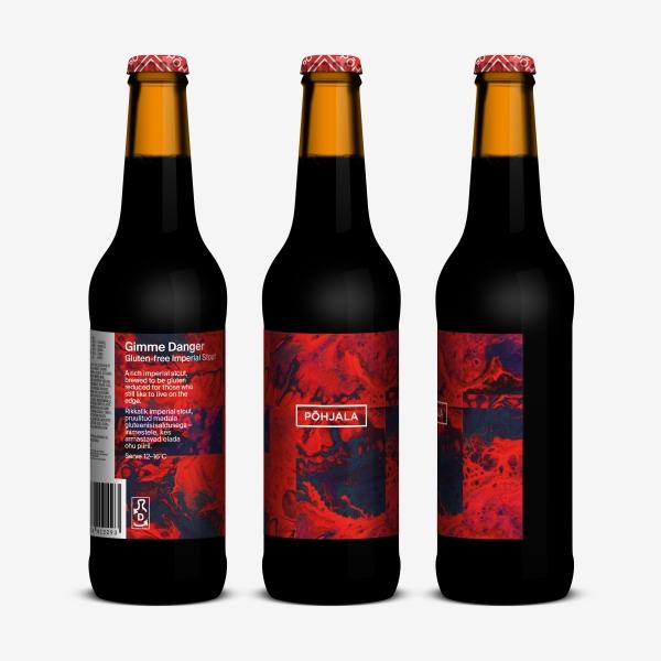 Põhjala Gimme Danger – Gluteenivaba Imperial Stout - 10.5% – 0.33L