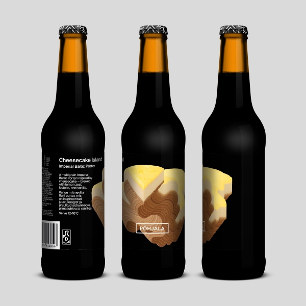 Põhjala Cheesecake Island – Imperial Baltic Porter – 10%