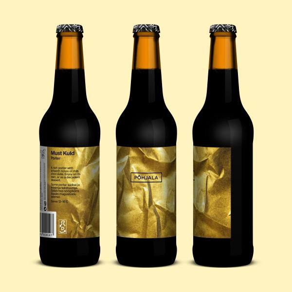 Põhjala Must Kuld – Porter - 7.8% – 0.33L
