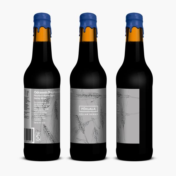 Põhjala Odravein Bourbon BA – BA Barely Wine - 14% – 0.33L