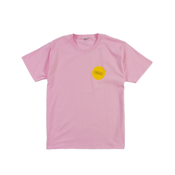 Põhjala T-shirt - pink/yellow