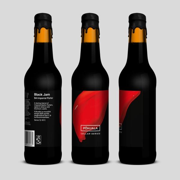 Põhjala Black Jam – BA Imperial Baltic Porter – 11.9%