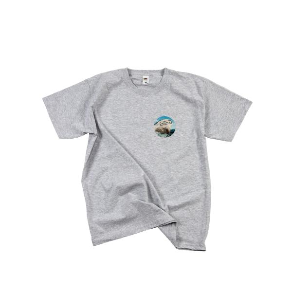 Põhjala T-shirt - grey/Uus Maailm