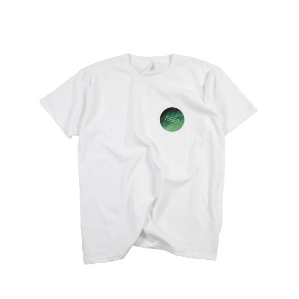 Põhjala T-shirt - white/Virmalised