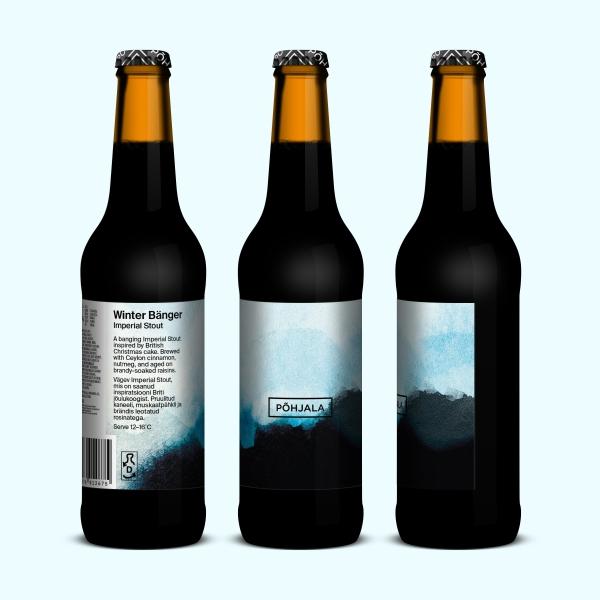 Põhjala Winter Bänger – Imperial Stout - 12.5% – 0.33L