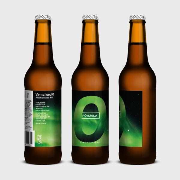 Põhjala Virmalised 0 – Alkoholivaba IPA - 0.5% – 0.33L
