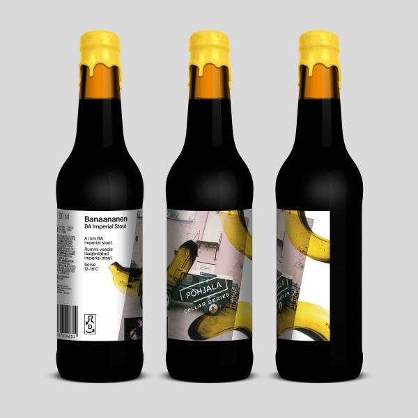 Põhjala Banaananen – BA Imperial Stout – 13.5%