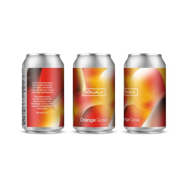 Põhjala Orange Gose – Gose - 5.5% – 0.33L