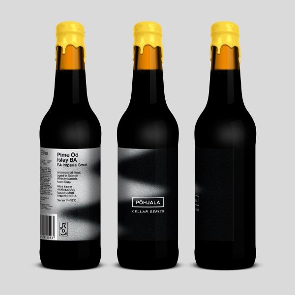 Pime Öö Islay BA – BA Imperial Stout – 14%